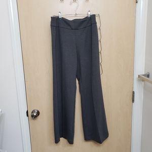 NWOT New York & Company Wide Leg Gray Pants